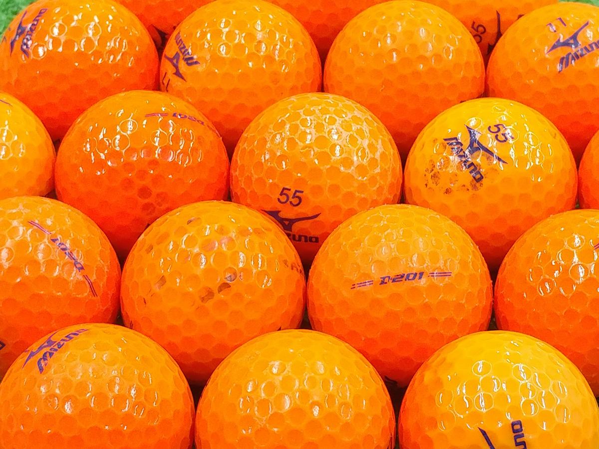 【Bランク】ミズノ D201 オレンジ 2017年モデル 1個