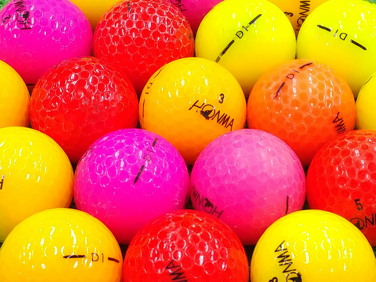 【Bランク】本間ゴルフ D1 カラー混合 2016年モデル 1個