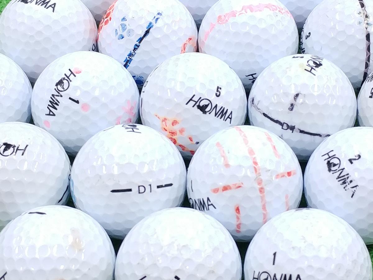 【Bランク】本間ゴルフ D1 ホワイト 2016年モデル 1個