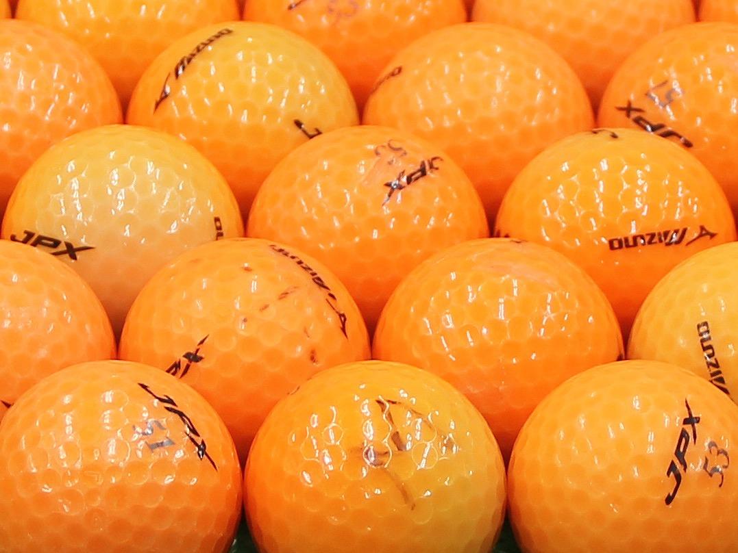 【Bランク】ミズノ JPX オレンジパール 2012年モデル 1個