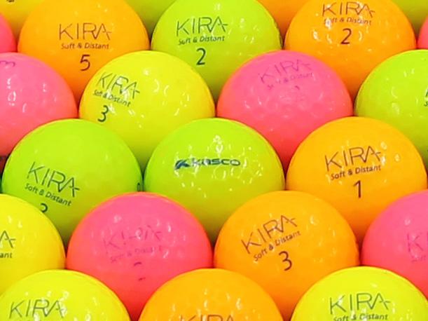 【Bランク】Kasco(キャスコ) KIRA Soft&Distant カラー混合 2012年モデル 1個