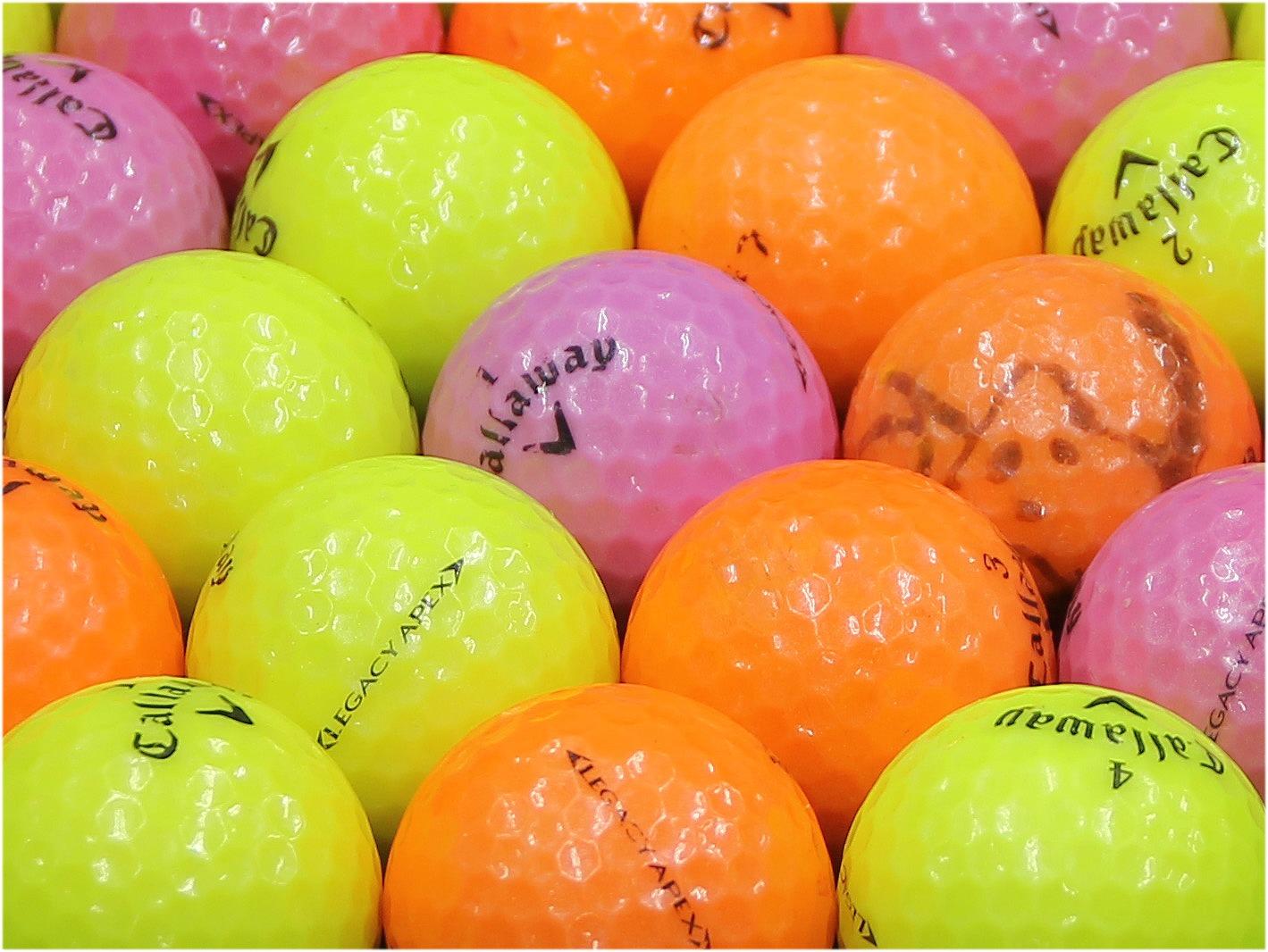 【Bランク】Callaway(キャロウェイ) LEGACY APEX カラーボール混合 1個
