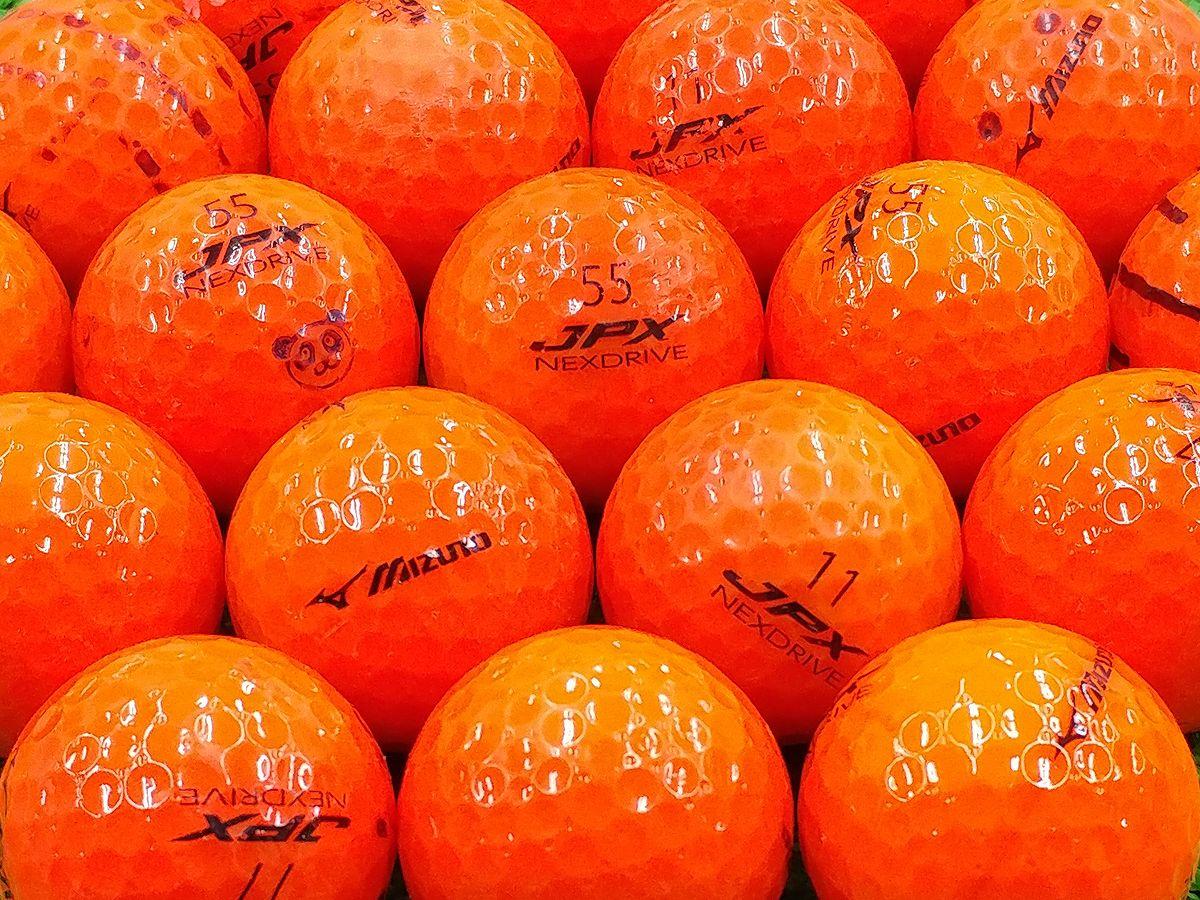 【Bランク】ミズノ JPX NEXDRIVE オレンジ 2015年モデル 1個