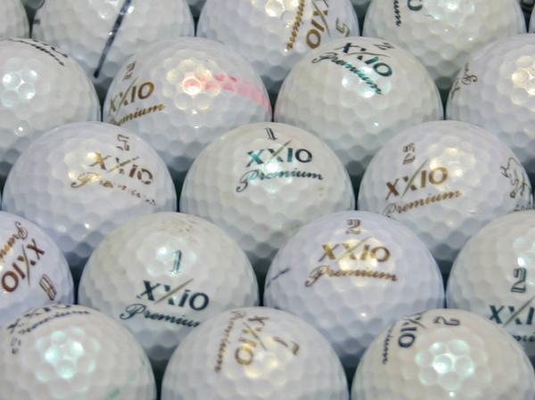 【Bランク】XXIO(ゼクシオ) Premium ロイヤルグリーン・ゴールド混合 1個