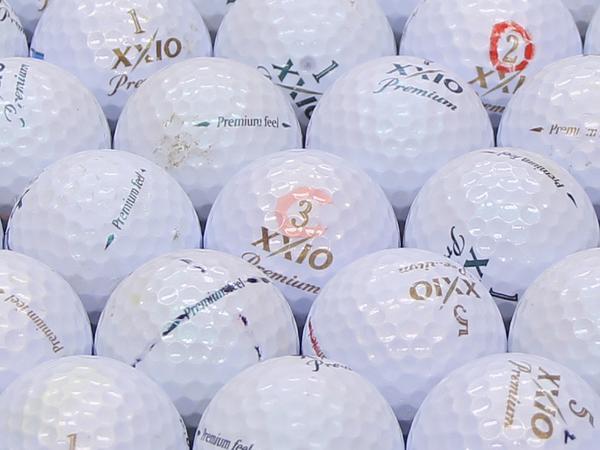 【Bランク】XXIO(ゼクシオ) Premium feel  ロイヤルグリーン・ゴールド混合 2010年モデル 1個